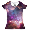 "Under the ""Wing"" of the Small Magellanic Cloud Women's Graphic Tee Crewneck Top"