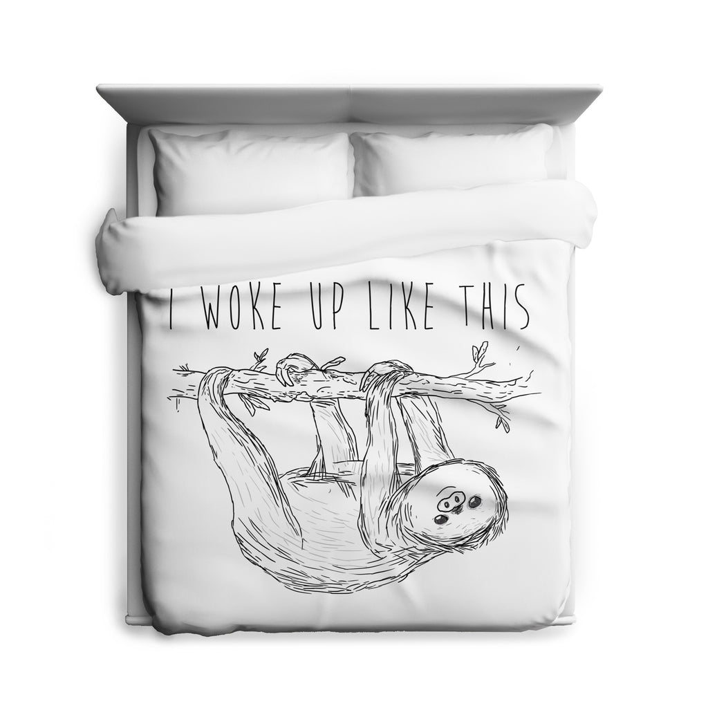 Woke Up Duvet Cover
