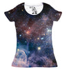 Carina Nebula Women's Graphic Tee Crewneck Top