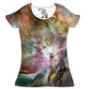 Orion Nebula Women's Graphic Tee Crewneck Top