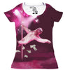 Stripper Sloth Women's Graphic Tee Scoop Top