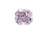 1.12ct Pink Radiant Diamond Loose Diamond GIA certified JEWELFORME BLUE