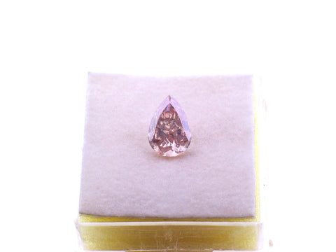 1.22ct Pink Pear Shape Diamond JEWELFORME BLUE  GIA Certified