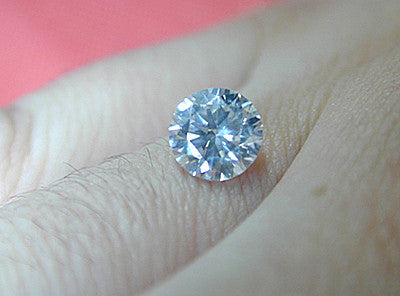 1.01ct E-SI1 Loose Diamond Round Diamond EGL certified  JEWELFORME BLUE