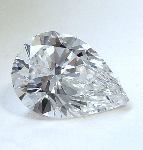 13.62ct Pear Shape Loose Diamond D- VVS1 GIA certified  JEWELFORME BLUE