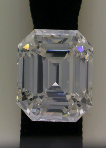 15.12ct J-VVS1 Loose Diamond Emerald Cut Loose Diamond GIA certified JEWELFORME BLUE