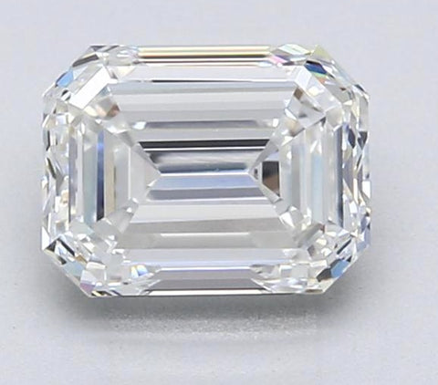 GIA certified 2.02ct J-VVS1 Loose Diamond Emerald Cut Loose Diamond  JEWELFORME BLUE