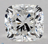 GIA certified 2.05ct F VS2 Cushion Diamond Loose Diamond GIA JEWELFORME BLUE
