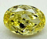 2.72ct Fancy Yellow Loose Diamond Oval 900,000 GIA certified Diamonds JEWELFORME BLUE