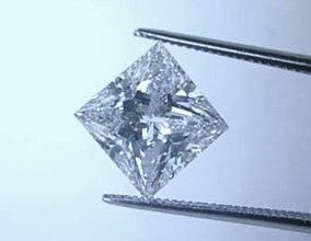1.30ct F-VS2 Loose Diamond Princess GIA certified Jewelry JEWELFORME BLUE