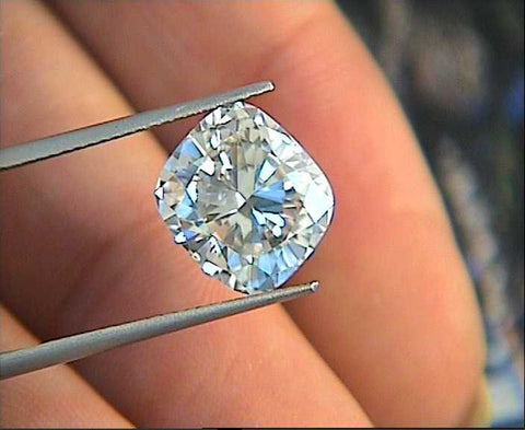7.23ct ct G-SI1 Loose Diamond Cushion EGL certified JEWELFORME BLUE (sold)