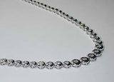 3.00ct Diamond Opera Necklace 18kt White Gold Anniversary JEWELFORME BLUE