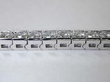 12.05ct Princess Cut Diamond Bracelet Anniversary Birthday Bridal Jewelry Gift JEWELFORME BLUE