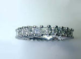 Princess Cut Diamond Eternity Ring 2.50ct