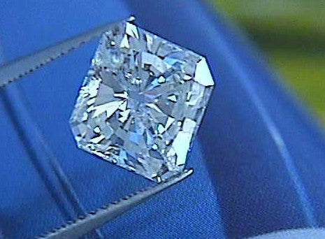 2.02ct H-SI1 Radiant cut diamond H-SI1 900,000 GIA certified loose diamond JEWELFORME BLUE