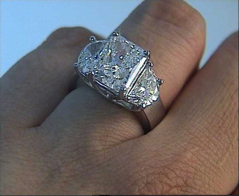 engagement rings diamond moon carat half and ring radiant fine platinum image jewelry