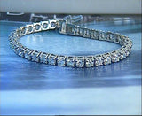 4.12ct Round Diamond Tennis Bracelet JEWELFORME BLUE