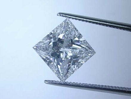 GIA 3.21ct F SI1 Loose Diamond Princess GIA certified Jewelry BLUERIVER4747