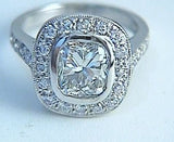 2.73ct Cushion Diamond Engagement ring GIA certified JEWELFORME