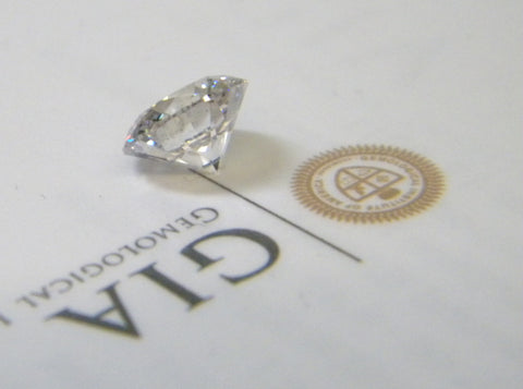 0.70ct G-VVS2 Loose Diamond Round Diamond GIA Certified JEWELFORME BLUE 900,000 GIA certified diamonds