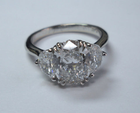 diamond build nile setmain moon rings platinum half tw your engagement blue ring rd ct in own