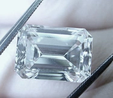 81.38ct K-VVS1 Loose Diamond Emerald Cut Loose Diamond GIA certified JEWELFORME BLUE