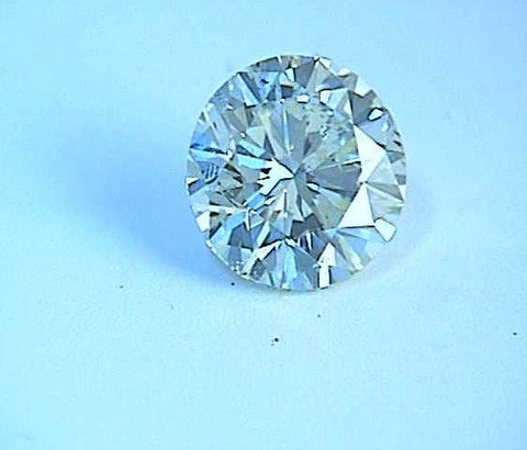 0.73ct G-VS2 Loose Diamond Round Diamond JEWELFORME BLUE