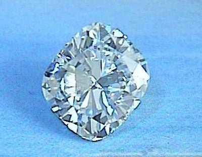 0.90ct H-SI1 Cushion Diamond Loose Diamond GIA certified JEWELFORME BLUE