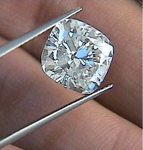 1.25ct E-VS2 Cushion Diamond Loose Diamond GIA certified Jewelry JEWELFORME BLUE
