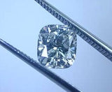 4.01ct ct F-SI2 Loose Diamond Cushion GIA certified JEWELFORME BLUE