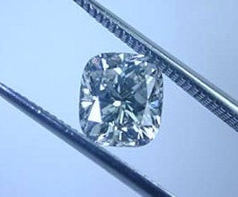 0.83ct ct F-SI2 Loose Diamond Cushion GIA certified JEWELFORME BLUE