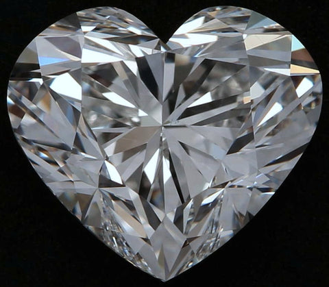 3.20ct F-VS1 Heart shape Loose Diamond  GIA certified JEWELFORME BLUE