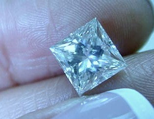 3.08ct J-IF Princess Loose Diamond GIA certified JEWELFORME BLUE