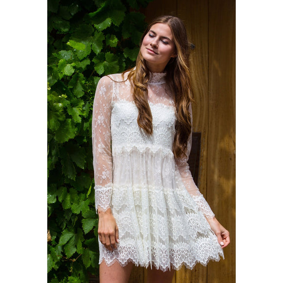 Mysteries Lace Dress