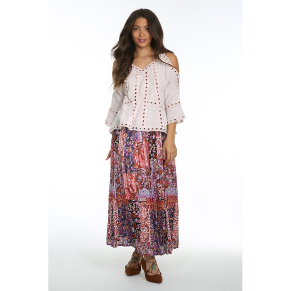 Sunset Vista Maxi Skirt