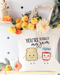 You're Totally My Jam Cotton Canvas Tote Bag