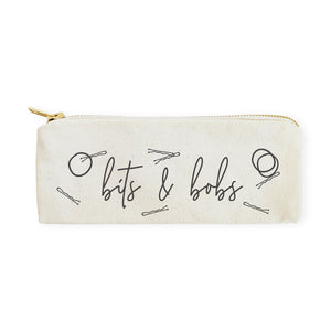 Bits & Bobs Cotton Canvas Travel Pouch