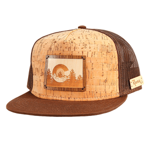 Colorado Treeline Inlay Trucker Cap