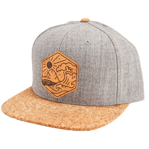 North Coast Cork Brim Snapback