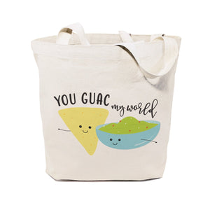 You Guac My World Cotton Canvas Tote Bag