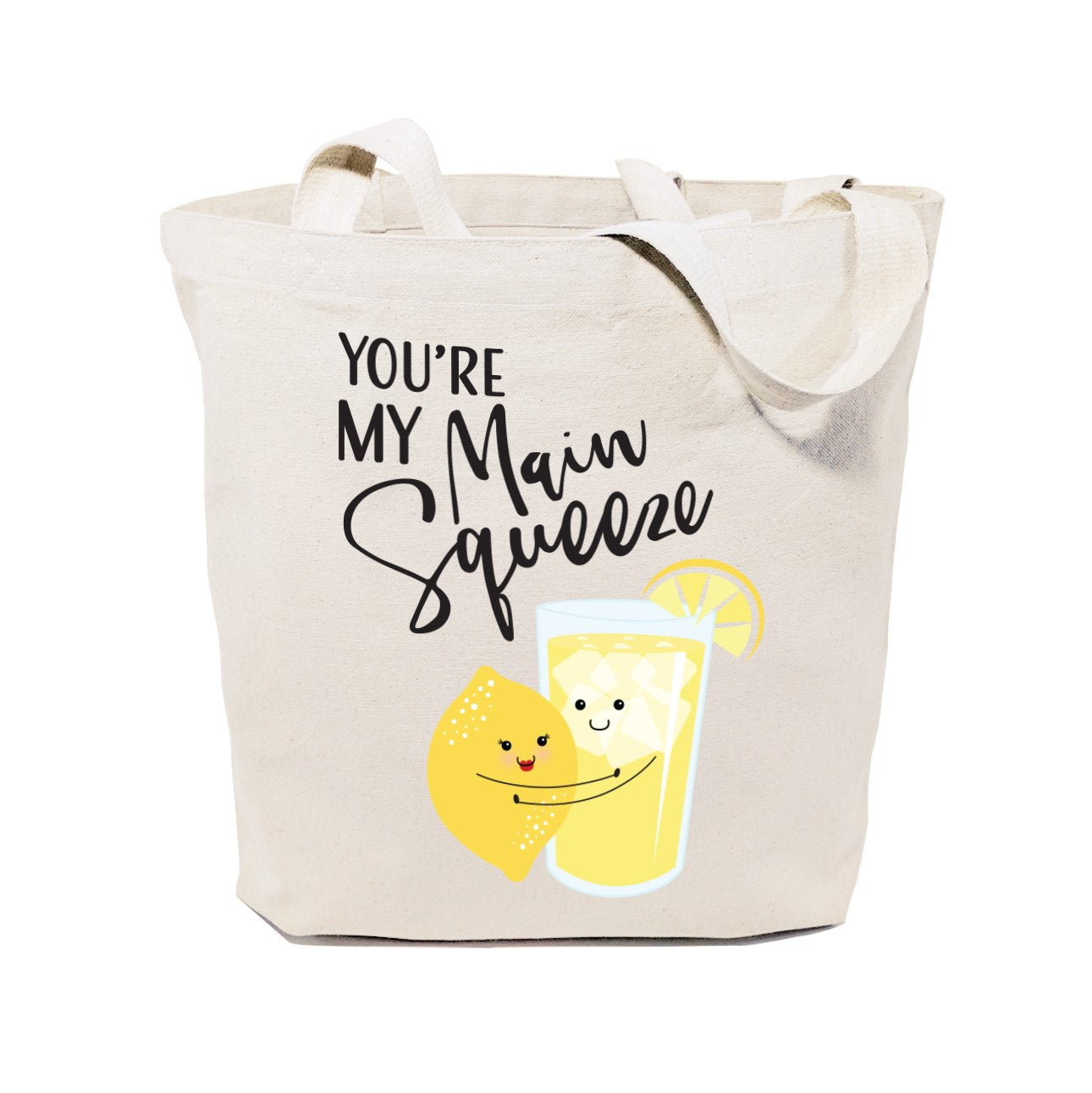 You're My Main Squeeze Cotton Canvas Tote Bag
