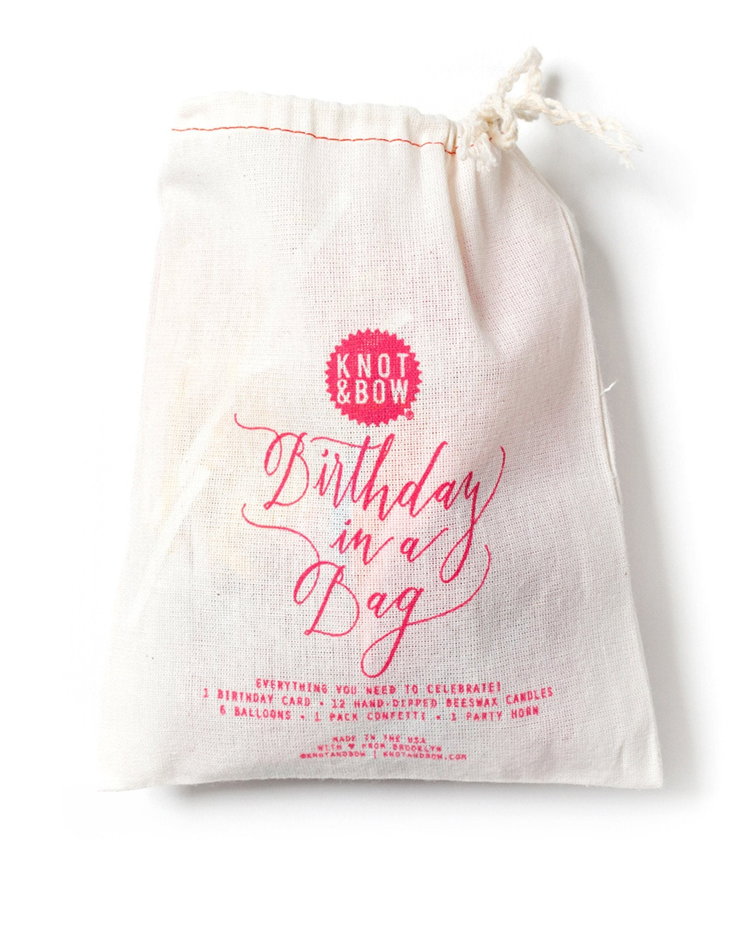 Birthday in a Bag (Pink)
