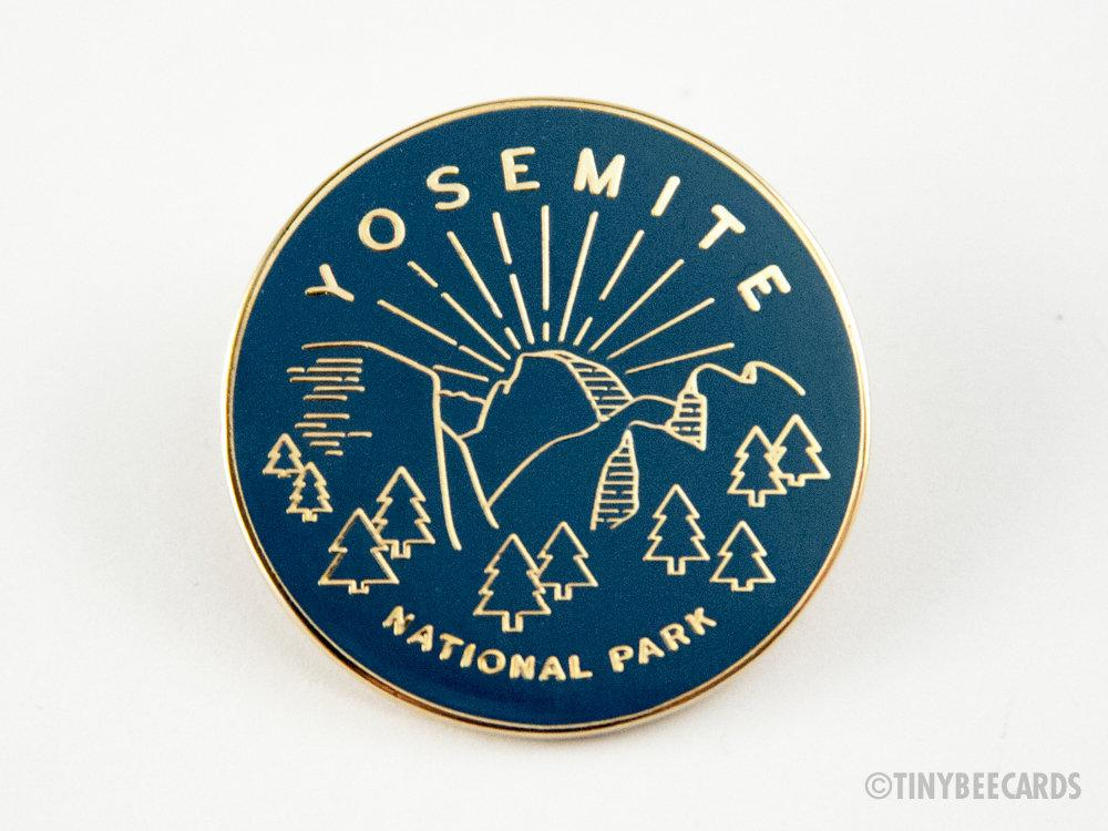 Yosemite National Park Enamel Pin
