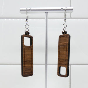 Mid Mod Earrings - Hidden Blocks