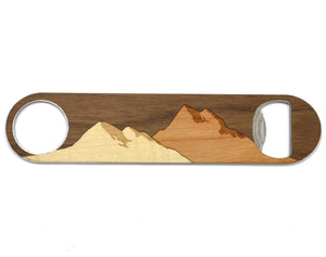 Mountain Bottle Opener