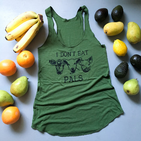 I Don't Eat Pals ECO Womens tank