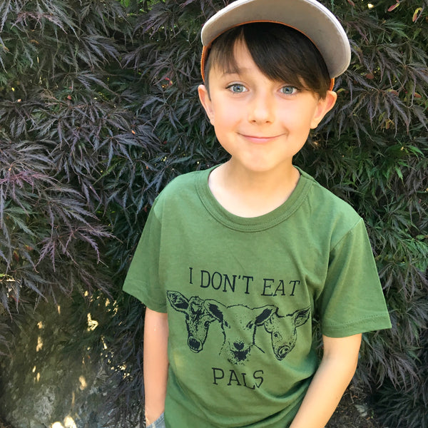 I Don't Eat Pals - kids tee