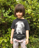 Ferocious Vegan ECO t- shirt - kids tee