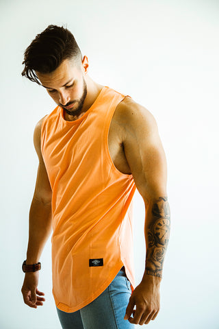 Men's Peach Cut Off