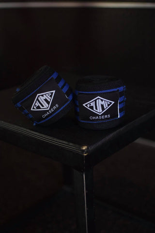 Pump Chasers Knee Wraps (With Velcro)